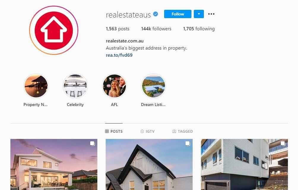 Real Estate Aus Instagram